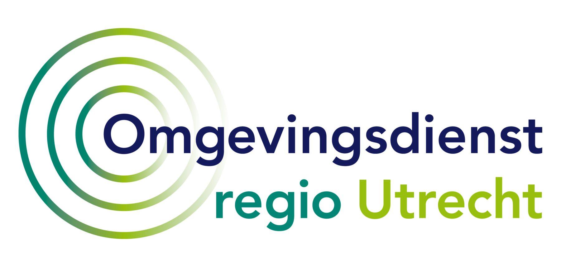 logo Omgevingsdienst regio Utrecht in 3 PMS kleuren