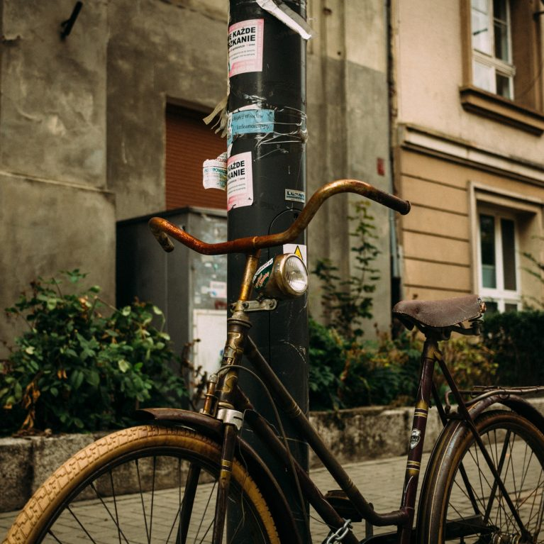Cultuur is... je fiets niet op de stoep parkeren